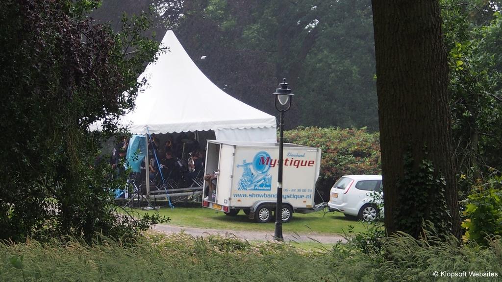 Stageband Mystique bij Witte Villa