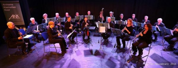 Optreden Arnhems Klarinettenkoor